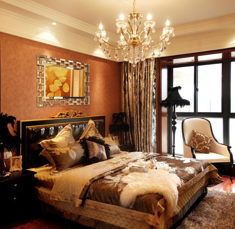 Rechteckiger Spiegel mit MDF-Rahmen im Schlafzimmer| Hersteller vom ...